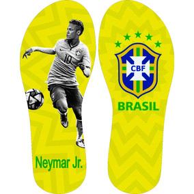 Chinelo Brasil Neymar