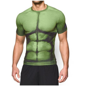 Playera Under Armour De Compresion Alter Ego Hulk