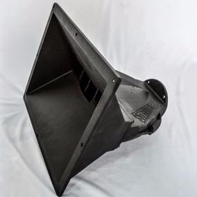 Corneta Guia De Ondas C/ Frente Aluminium Para Driver 2 Pole