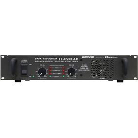 Amplificador De Potência Wattsom W Power 2 4500 Ab