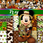 Kit Imprimible Pack Fondos Mickey Mouse 29 Clipart