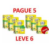 Adoçante Em Pó Gold 100% Stevia Pague 5 Leve 6 Caixas