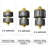 Soportes Tacos De Cabina Pick Up Ford F100 74 Al 80 6 Piezas