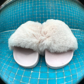 Zapatos ;chanclas Peludas:ultimos Pares