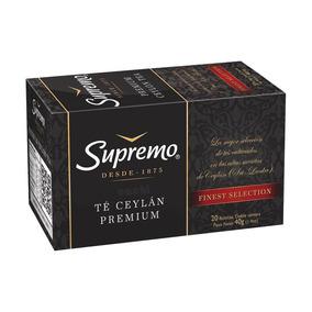 Te Supremo Ceylan Premium 20 Bolsitas