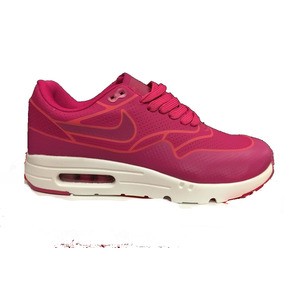 Zapatillas Nike Air Max Ultra Moire Fucsias. Ultimas En 35