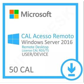 Licença Windows Server 2016 Cal User Esd - Nfe