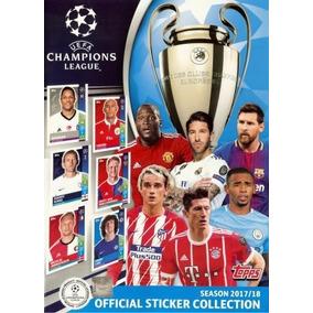 Uefa Champions League 2017-2018 Figurinhas Avulsas Futebol