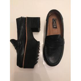 Zapatos De Cuero De Mujer María Cher