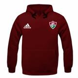 Blusa Moleton Casaco Fluminense Futebol Time Tricolor