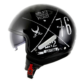 Capacete Ls2 Of561 Wave Greatest Preto Rs1