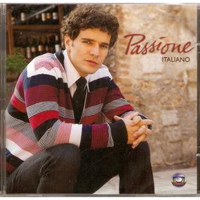 Cd Passíone - Trilha Sonora Italiano - Novo***