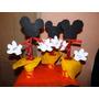 Centro De Mesa Mickey Mouse Cumpleaños