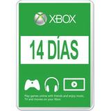 Membresia Xbox Live 14 Dias Silver, Envio Inmediato!