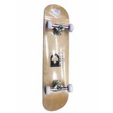 Tabla Skateboard Semiprofesional 7 Capas De Pino Canadiense