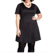 Vestido Dama Talla Extra 4x(28w-30w) Negro Envio Gratis