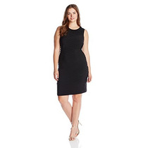 Vestido Formal Calvin Klein Original Talla 22w Negro (nuevo)