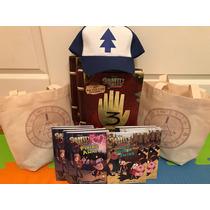 Diario Libro Gravity Falls Original 3 + Gorro +libro + Bolsa