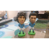 Diego Maradona Y Careca Napoli Italia Boca Argentina Brasil