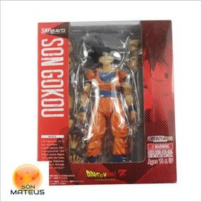 Boneco Goku Articulado Sh Figuarts Dragon Ball Produto Novo