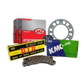 Kit Relação Vaz Com Did Ou Kmc Z 750 C/ Retentor + Brinde
