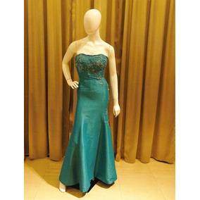 Vestido Verde Sereia, Formatura, Madrinha E Festas Ts-626