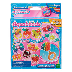 Aquabeads Dazzling Ring Set Epoch Magia