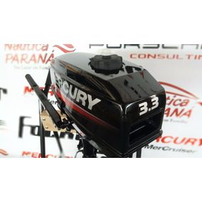 Motor De Popa Mercury 3.3 Hp Frete Grátis Ano 2017 Novo