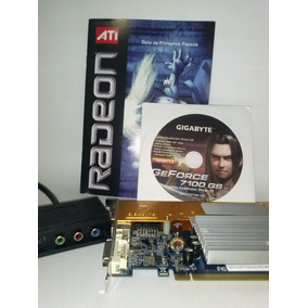 Placa De Vídeo Geforce 7100gs 128mb (até 512) 64 Bits (nova)