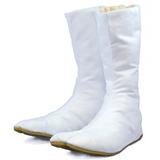 Disfraz Halooween White Japanese Ninja Tabi Shoes/boots!! W