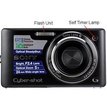 Camara Sony Cybershot Dsc W380 14,1 Mp 4 Gb De Memoria