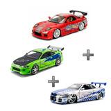 Kit Mazda Rx 7+mitsubishi Eclipse+nissan Skyline 1/24 V & F