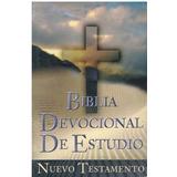 Libro, Biblia Devocional De Estudio Nuevo Testamento.