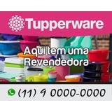 Placa Da Tupperware Pt01 Em Pvc 2mm Tamanho 50x40cm 1un