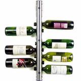 Cava Rack Porta Botellas De Vino Con Soporte A Pared D3023