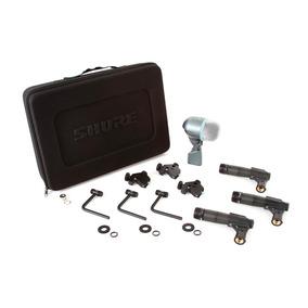 Kit Microfones P/ Bateria Shure Dmk57-52 - 1 Beta 52a 3 Sm57