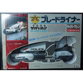 Cybercops Blade Liner Na Caixa Original Completa Takara 88