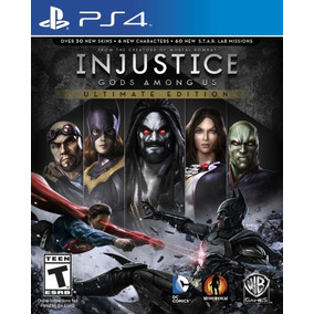 Ps4 Injustice Gods Among Us Ultimate Edition Frete R$ 12,00
