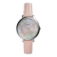 Reloj Dama Fossil Es4151 Color Rosa De Piel
