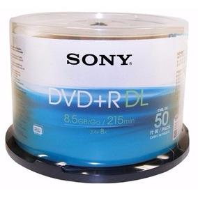 Dvd 8.5 Gb, Doble Capa Marca Sony
