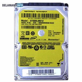 Hd Sata 500gb Samsung P/ Notebook Acer Asus Cce Hp (5349)