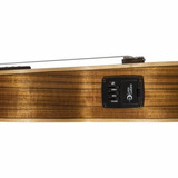 Ukelele Electro- Acústico Luna Alto Tide Series Ovangkol