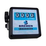 Medidor Mecânico Para Diesel 4 Dígitos Bremen