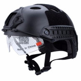 Capacete Tático Emerson C/ Lente Paintball Airsoft Top!