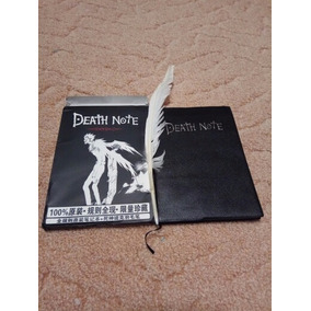 Kit Caderno Death Note + Caneta Pena + Ryuk