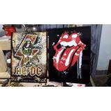 Rolling Stones Carteles Baules Mesas Percheros Todo Vintage
