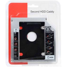Adaptador Caddy 9,5mm Para Hd Ou Ssd Sata Notebook Samsung