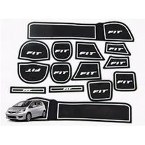 Honda New Fit Tapete Branco Interno Borracha Acessorios