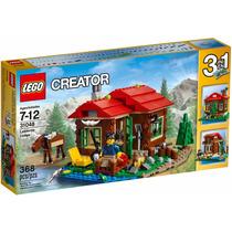 Lego Creator - Casa Do Lago 31048 - 3 Em 1 - Pronta Entrega