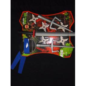 Armas Para Fantasia Infantil Tartaruga Ninja Estrela Kitana